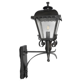 Tullamore Outdoor LED Standing Wall Lantern - Large