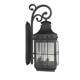 Bray 4 Light Outdoor LED Wall Lantern