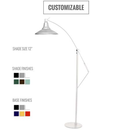 Calla Customizable Industrial Floor Lamp
