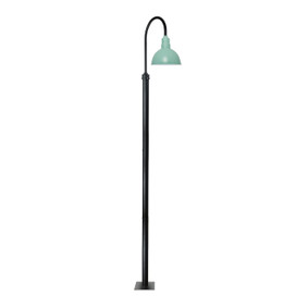 "132"" Blackspot Outdoor Post Light Fixture with 14"" Shade - Jade"