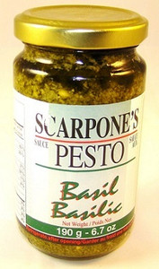 Basil Pesto (190 gr) - SCARPONE'S