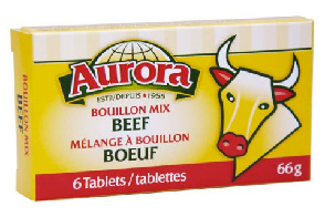 Beef Bouillon Cube (66 gr) - AURORA