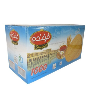 Biscuits with coconut taste decorated with sugar 900 gr- Farkhondeh