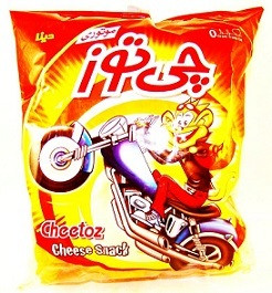 Cheese snack 70 gr- Cheetoz