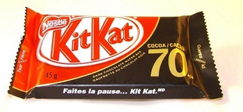 Chocolate Wafer Bar(70% COCOA) 45 gr - Kit Kat