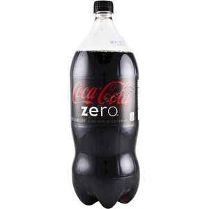 Coca Cola Zero (2 Liter Bottle)