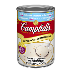 Condensed Cream of Mushroom (284 ml/10 oz) - Campbell's