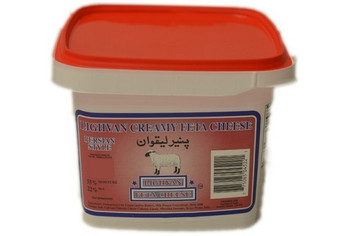 Creamy Lighvan Feta Cheese - Salted Cheese 1Kg