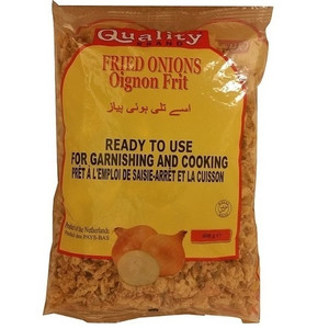 Crisp Golden Fried Onions with Flour 400 gr - Quality
