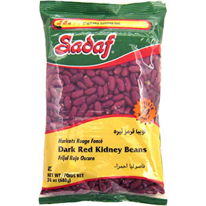 Dark Red Kidney Beans 680 gr - Sadaf
