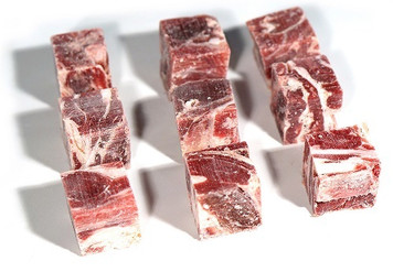 Halal Goat Cube Frozen 1 kg - Basha