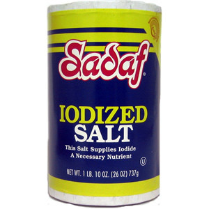 Iodized Salt 737 gr - Sadaf