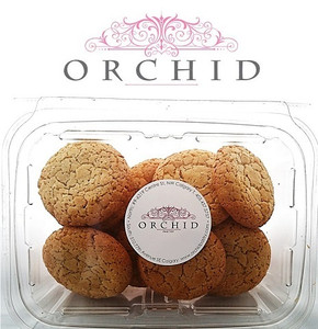 Italian Amaretti Cookies - Orchid Pastry