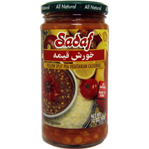 Khoresh Gheimeh Yellow Split Pea casserole 12 oz. - Sadaf