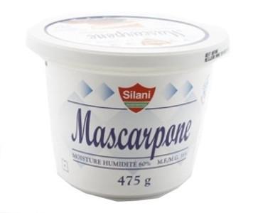 MASCARPONE 475 gr- SILANI