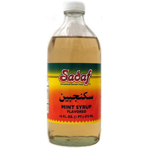 Mint Syrup - Sekanjebin 16 fl. oz.