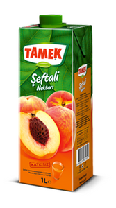 Peach Juice 1L - Tamek
