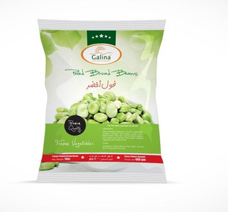 Peeled Broad Beans (Green Fava Beans) for Baghali Polo 400 gr - Galina