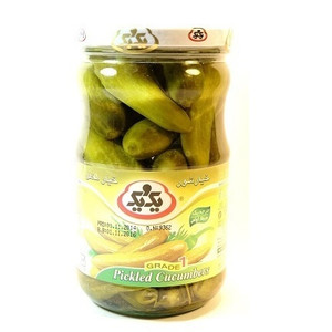 Pickled Cucumber (Grade 1) 670gr - 1&1