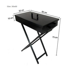 Portable Folding Charcoal BBQ Grill Camping Steel Frame Medium Size