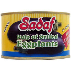 Pulp of Grilled Eggplants. 14 Oz