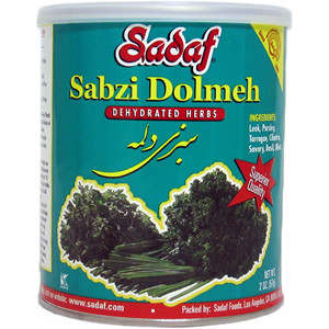Sabzi Dolmeh - Dried Herbs Mix SDF 2 oz.
