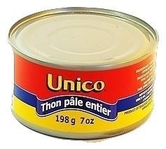 Solid Light Tuna 198 gr - UNICO