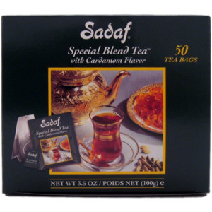 Special Blend Tea with Cardamom 50 Tea Bags Family Pack Foil Wrapping - Sadaf