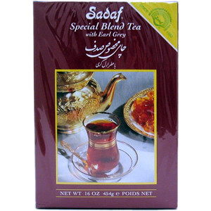 Special Blend Tea with Earl Grey 16 oz. (450 gr)