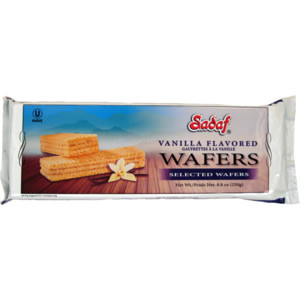 Wafer Vanilla 250g - Sadaf