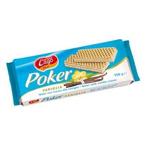 Wafer With Vanilla Cream (75%) 150 gr - Poker