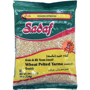 Wheat Pelted crushed- Yarma  1lb - Sadaf