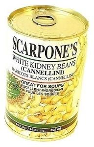 White Kidney Beans ( Cannellini) 14 OZ - SCARPONE'S