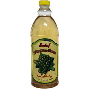 White Wine Vinegar 100% Natural 908 ml - Sadaf