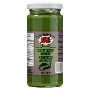 Fresh Green Chili Chutney (250mL)