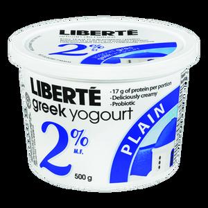 Greek Yogurt Plain 2% - 500 gr - Liberté