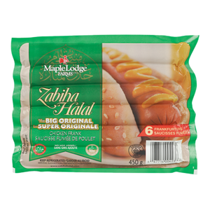 The Big Original Chicken Frank Frankfurters (450g) - ZABIHA HALAL