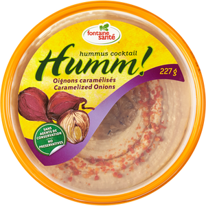 Hummus, Caramelized Onion (283g) - Sabra