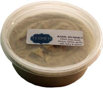 Basil Hummus (Homemade Style) 8 Oz (228 gr) - Termeh