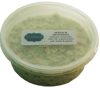 Spinach Artichoke dip (Homemade Style) 8 Oz (228 gr) - Termeh