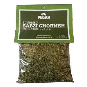 Sabzi Ghormeh - Dried Herbs Mix 100gr - Pegah