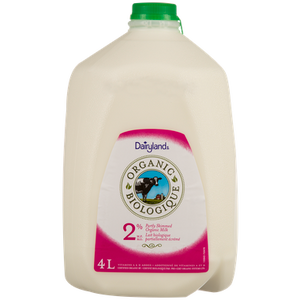 Organic 2% Milk (4 L) - DAIRYLAND