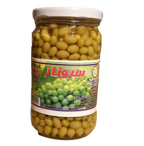 Unripened (Sour) Grapes in brine (Ghooreh) 700 gr  -Sarvenaz