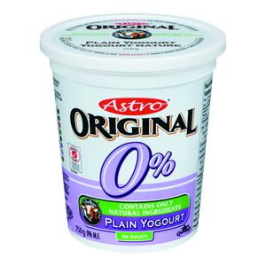 Original Balkan Style Yogurt, Plain 0% (750 g) - Astro