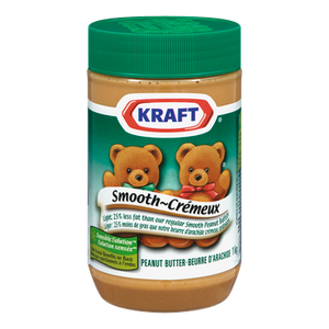 Peanut Butter, Smooth Light (1 kg) - Kraft