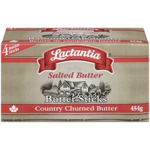 Butter Sticks, Salted (4x113g) - LACTANTIA