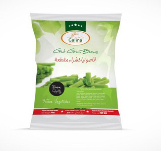 Cut Green Beans 400 gr - Galina