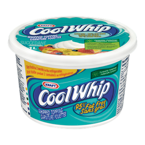 Cool Whip, 95% Fat Free Dessert Topping (1 L) - KRAFT