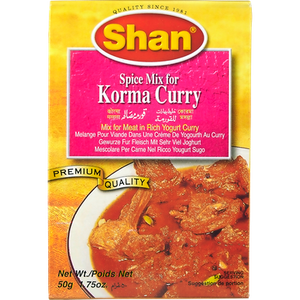Korma Curry Spice Mix (50 g) - Shan