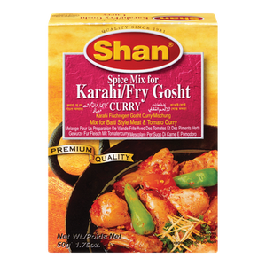 Karahi/Fry Gosht Curry Mix (50 g) - Shan